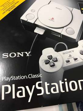 Play station sony clasic nuevo. Ojo nones play 1