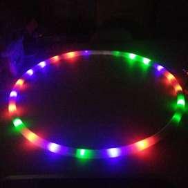 Hula Hula Hoop LED. (90 Cm, Multicolor)