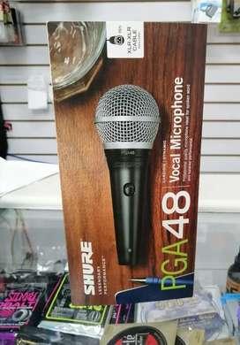 Micrófono profesional SHURE PGA 48