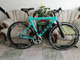 Bicicleta Fixie personalizada nueva