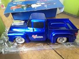 Radio FM digital parlante USB SD para Bluetooth recargable pila interna camioneta en color azul con luces buen sonido
