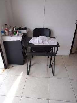 Vendo muebles para peluqueria