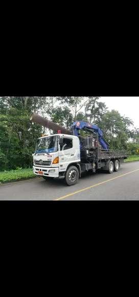 Camión grúa alquiler hidrogrua