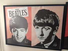 Cuadros Beatles Mao Elmo