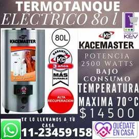 Termotanque electrico  Kacemaster 80 L Nuevo!!!