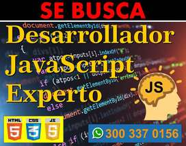 Desarrollador JavaScript Nivel Experto