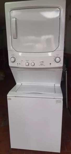 Lavadora secadora mabe a gas de 44 LIBRAS