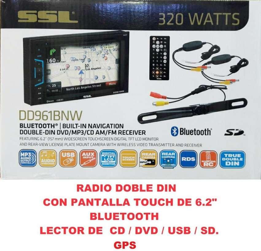 Radio para Carro con Gps 0
