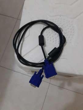 Se vende Cable vga
