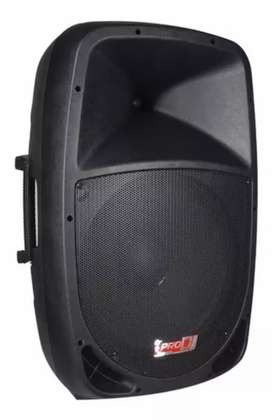 Cabina activa de 15 pulgadas pro dj Bluetooth USB radio SD micrófono control trípode