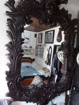 Vendo espejo con mesa