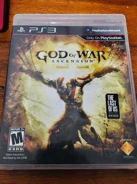GOD OF WAR  (ASCENSION  )