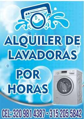 Alquiler de lavadoras y servicio tecnico