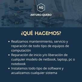 Servicio técnico  pc, mantenimiento y reparación de equipos informáticos, laptop netbook y notebook