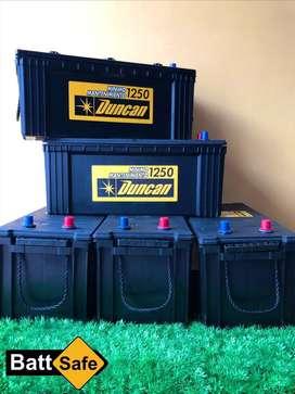 Baterias DUNCAN 4D 1250
