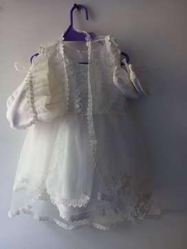 Vestido para Bautizo de niña