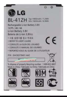 Bateria lg BL-41zh kite fino h340 nuevas originales