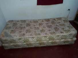 Somier con colchón de 1 Plaza