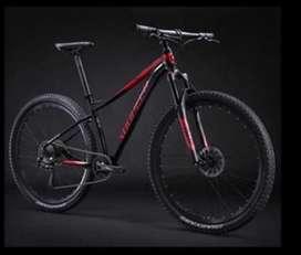 "Bicicleta sunpeed monoplato rin 27,5"""