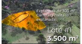 Se venden lotes en San Vicente, Oriente antioqueño
