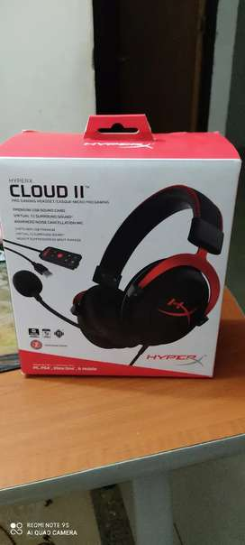 Diademas gamer hyper cloud 2