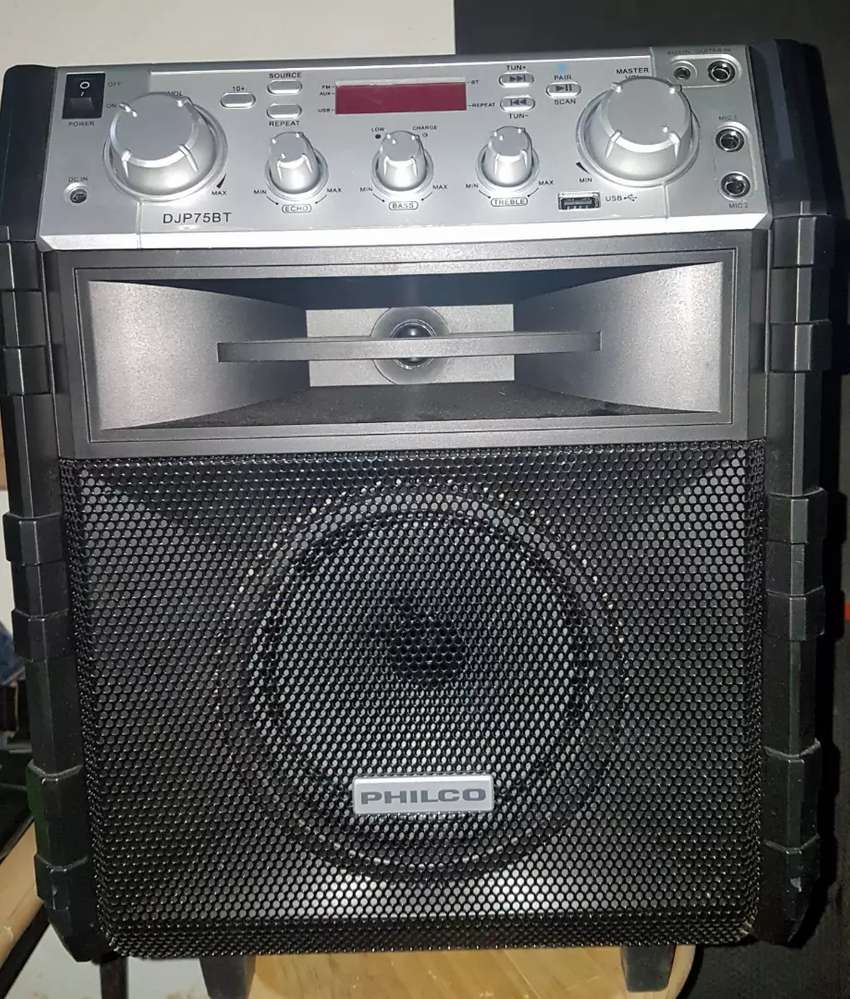 Parlante Bluetooth Philco Djp75bt Portatil Bafle Amplificado 0