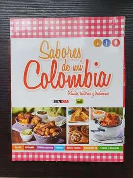Láminas coleccionables Sabores de mí colombia
