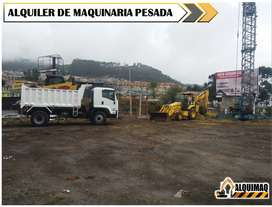 ALQUILER DE MAQUINARIA PESADA, GALLINETA, RETROEXCAVADORA, TRACTOR, MINIEXCAVADORA, EXCAVADORA, RODILLO COMPACTADOR.