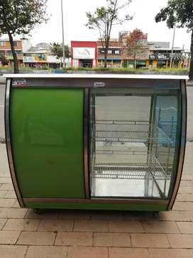 Hermosa nevera Mostrador de refrigeración