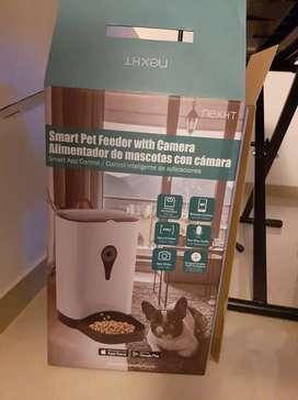 Dispensador electrónico de alimentos para mascotas