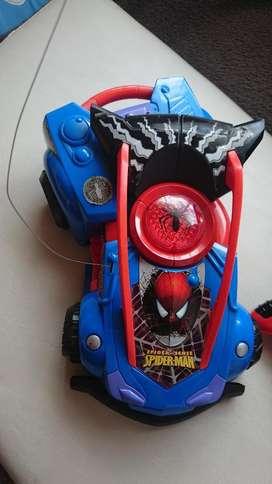 Carro Spiderman Edición Limitada