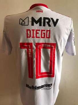 Hermosa camiseta de flamengo nueva blanca