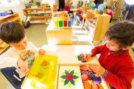 Asesorias para niños preescolar y primaria método Montessori material didáctico