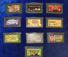 Colección juegos Nintendo Game boy Advance Sp