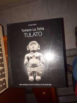 Libro historia Pre-Colombina cultura Tumaco La Tolita (Inglés) Edición Andrea Brezzi con muchas ilustraciones ($ 80,000)