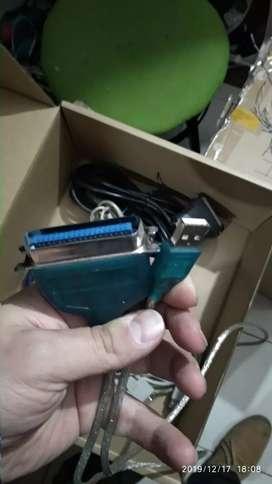 Convertidor USB a LPT para impresora