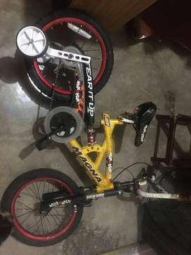 Bicicleta Bmx para niños. Marca Magna. R16