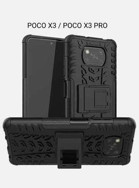 Estuche Forro Case Antigolpes Tipo Armadura Xiaomi POCO X3 NFC M3 Pro
