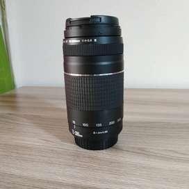 Lente Canon EF 75-300mm F/4.0-5.6