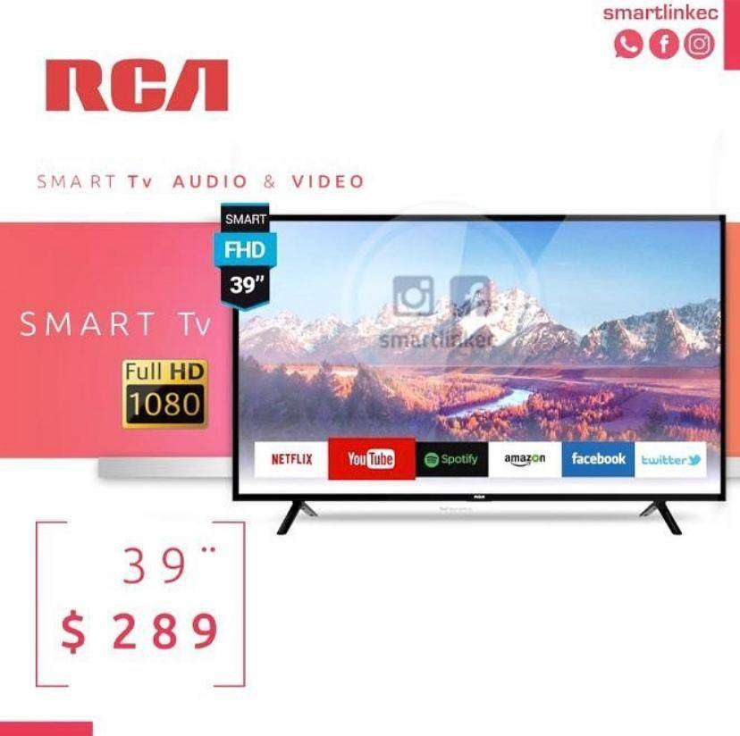 "Smart TV RCA 39"" FULL HD SISTEMA ANDROID 7.1 0"