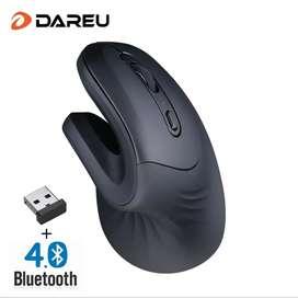 Mouse ergonómico Bluetooth dareu