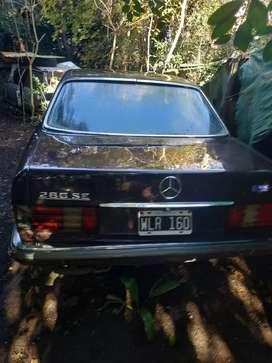 Mercedes 280 se línea nueva