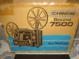 Proyector Chinon 7500 SOUND  En Caja Original Sin Usar!!!