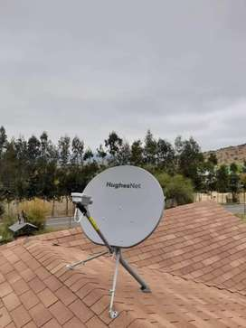 INTERNET satelital rural