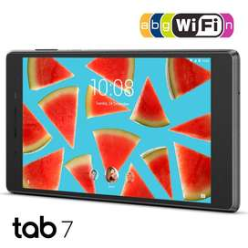 Lenovo Tablet 7 De 16 Gb + 1gb Ram, Bluetooth, Android, Wifi