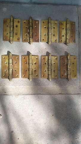 bisagras, trabas de hierro forjado y trabas de aluminio