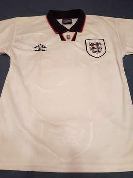Camiseta Selección Inglaterra Mundial Usa 94 Original Umbro (envío gratis)