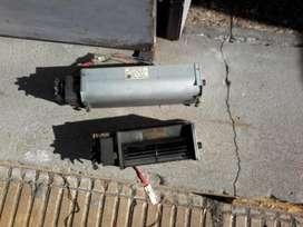 estractor de aire con motor