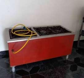 Vendo Estufa industrial y accesorios