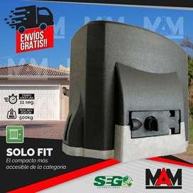 Motor Porton Corredizo Seg 500kg 1/4hp Pesado Kit Automatico
